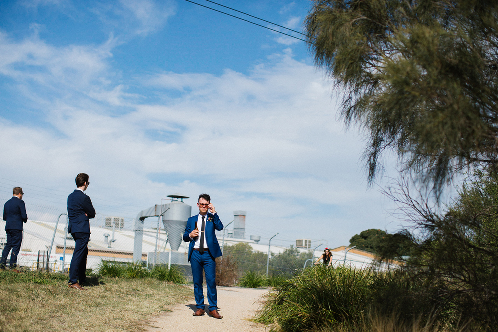 Pop & Scott natural, fun Melbourne Wedding