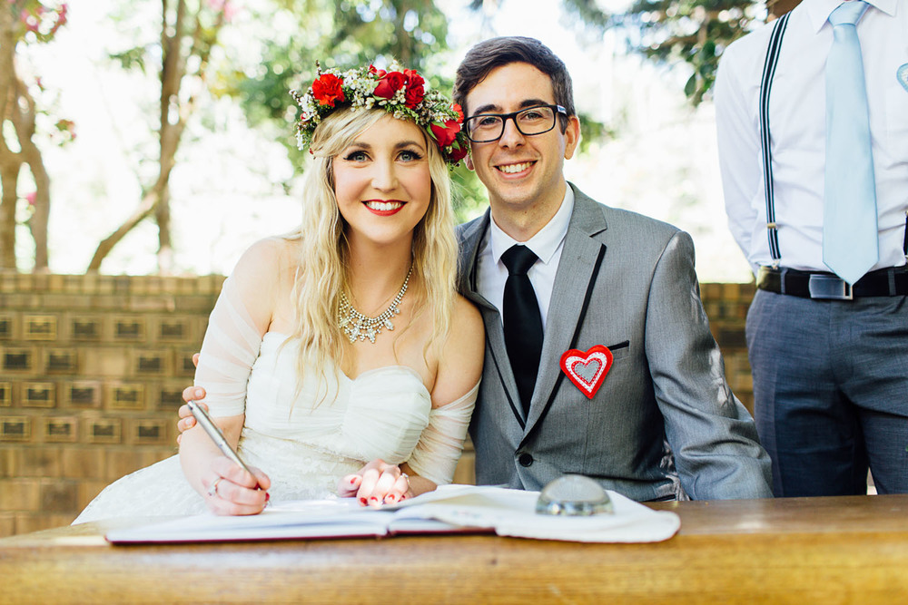Sweet Adelaide Hills wedding at Woodhouse Activity Centre