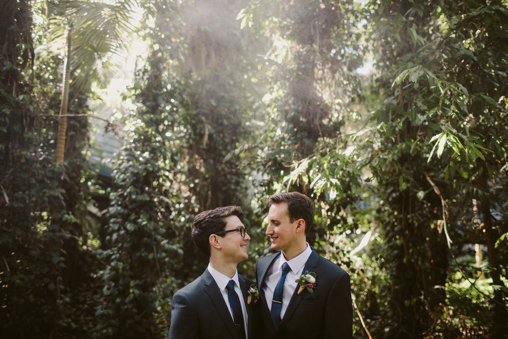 Andrew & James - Adelaide Botanic Gardens, South Australia