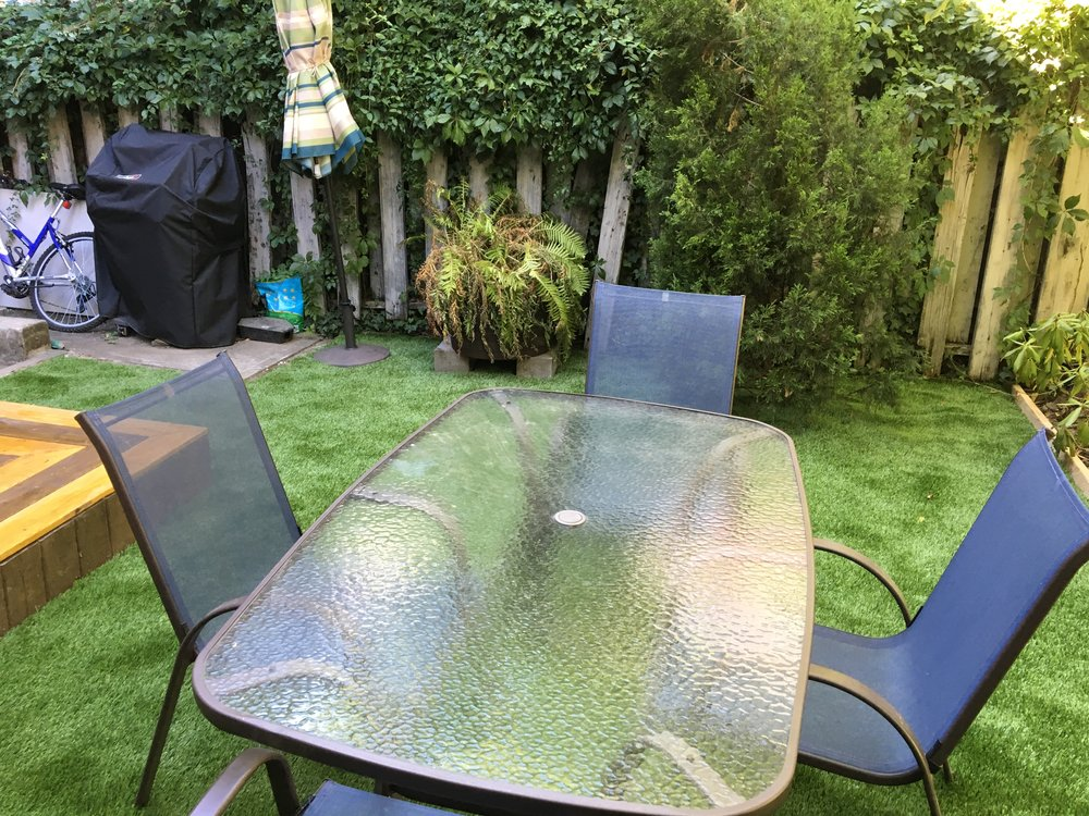 Garden Design Artificial Grass nyc sod installation, laying sod, nyc sod supplier, planting sod