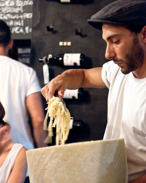 Buffalo mozzarella pasta in Brisbane (image courtesy of Grab Your Fork)