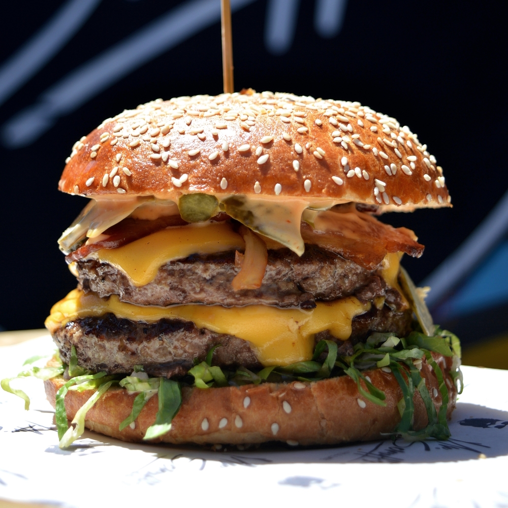 The Beef Burger (image courtesy of Blame Magazine)