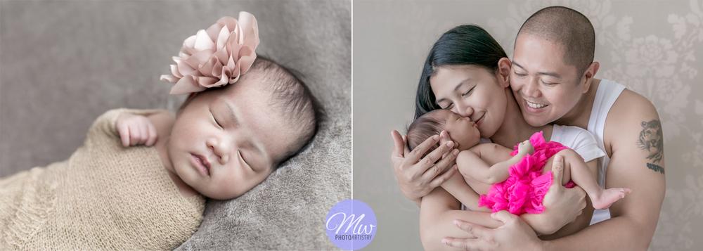 Kuala Lumpur Kuching Newborn Baby Family Photographer Photo