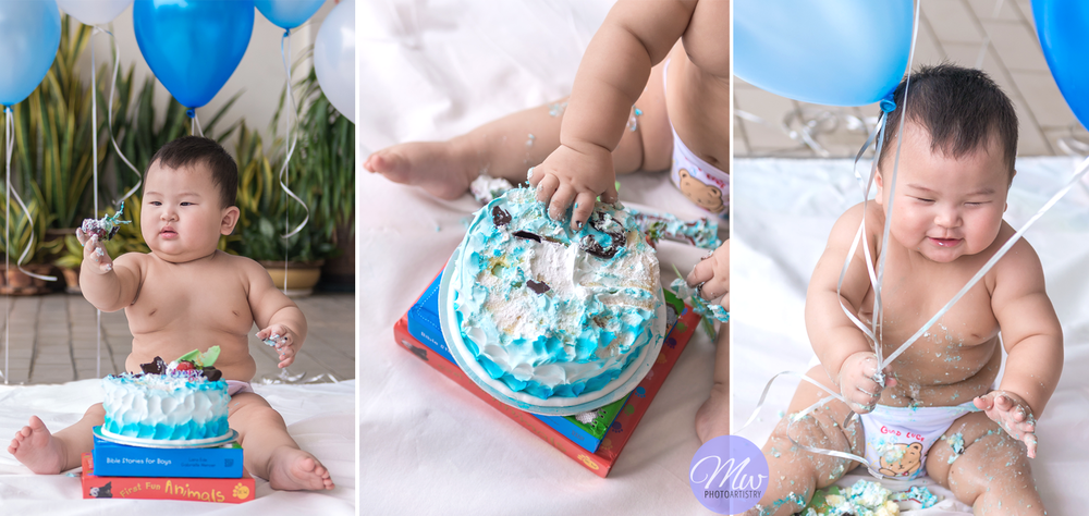 Baby Cake Smash Session