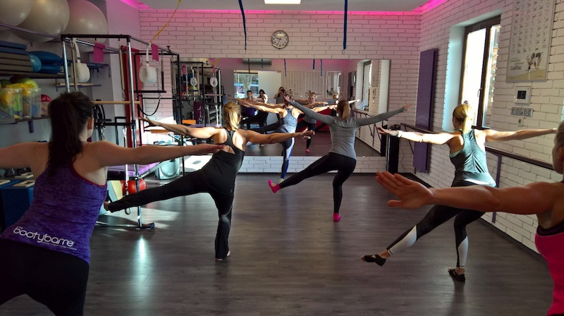 Pilates and Ballet moves to warm up your muscles and prepare you for an amazing workout.