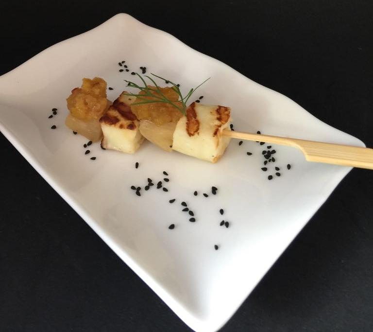 HALLOUMI & PINEAPPLE SKEWER