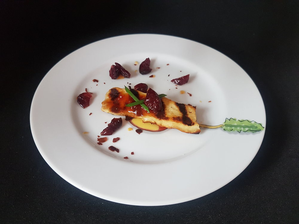 HALLOUMI FINGER WITH CHILLI JAM