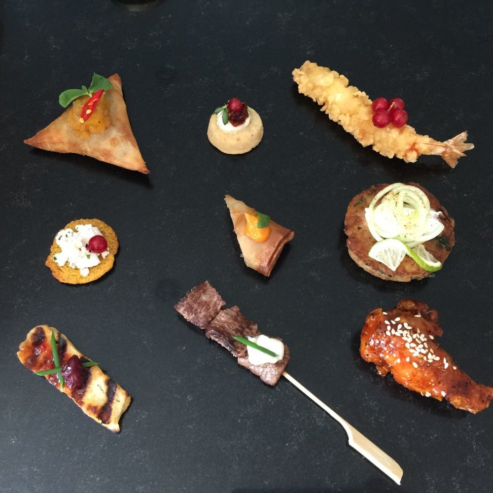 SELECTION OF OUR CANAPÉS
