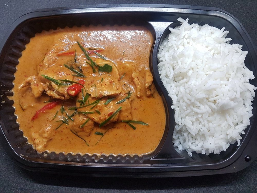 Chicken Penang & Jasmine Rice