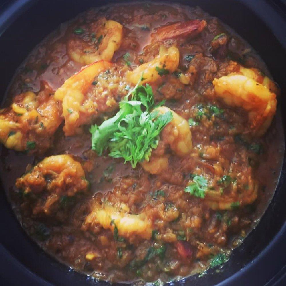 Parsi Prawn Curry