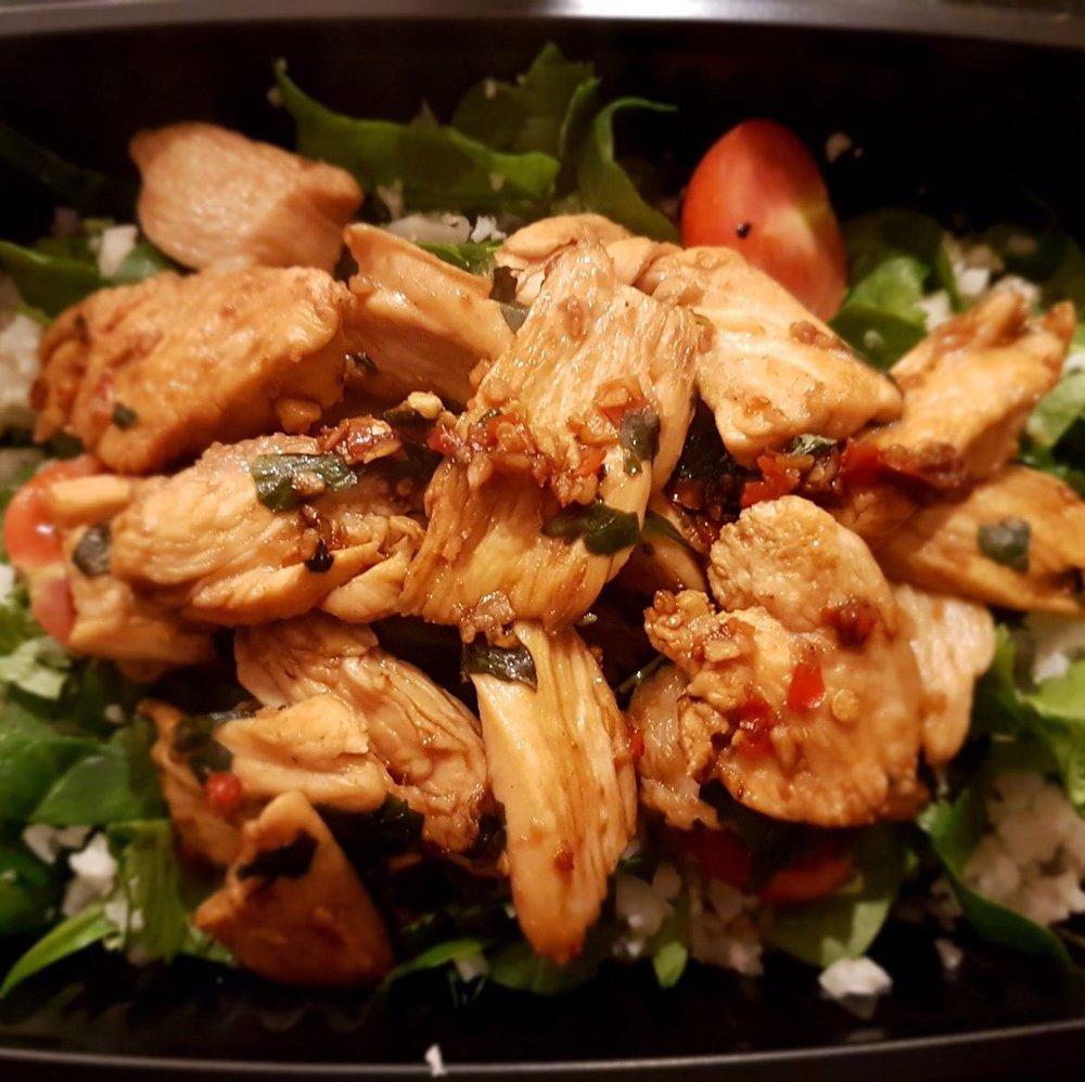 Chicken Chilli Basil & Jasmine Rice