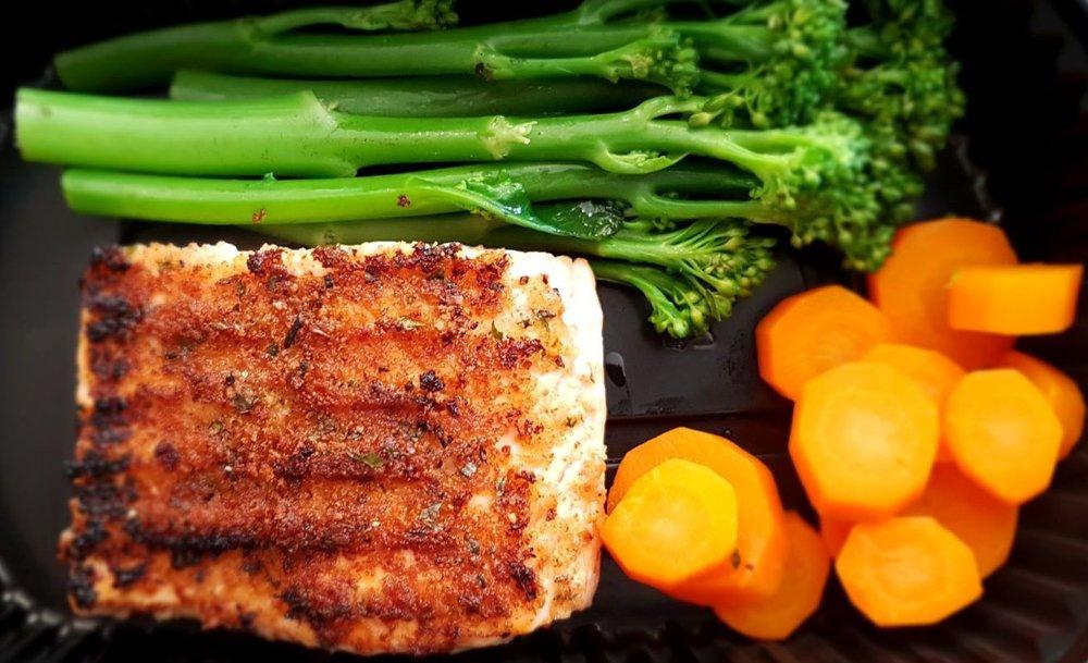 Parsley & Lemon Crusted Salmon