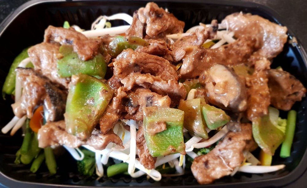 Stir-Fry Beef with Black Bean Sauce
