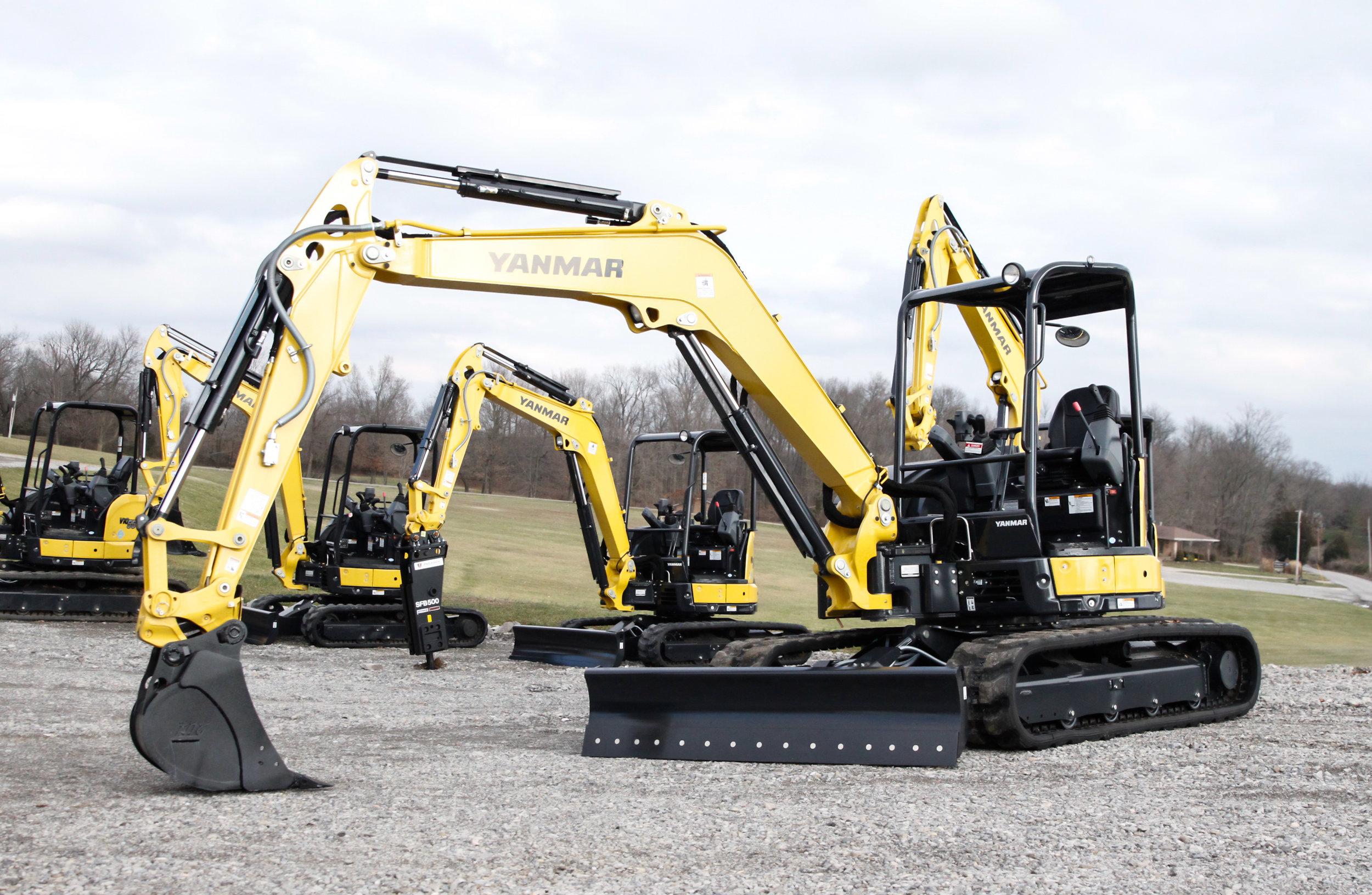VIO55-6A Yanmar Mini Excavator — Greg Abbott Equipment Sales