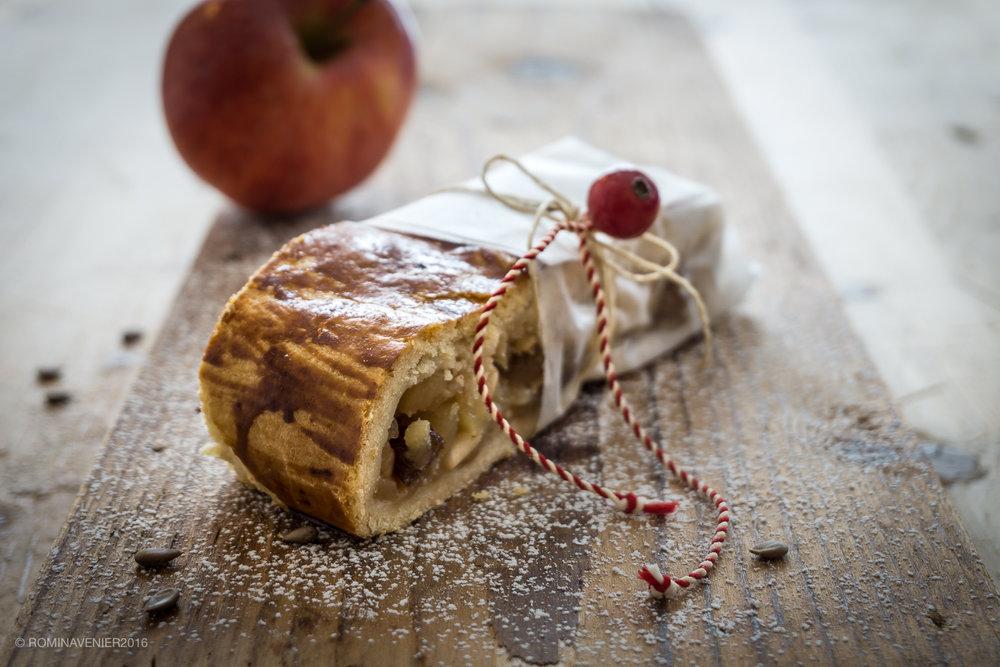 ...il profumo di mele che inonda la casa, che ricorda lo strudel da Chalet Gerard