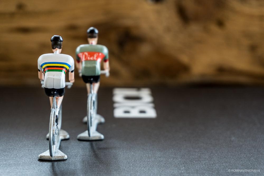 Tre Original Flandriens  _ Libro  BICI!  Le marche, i modelli e i design più prestigiosi della storia del ciclismo _ Richard Moore e Daniel Benson / Rizzoli