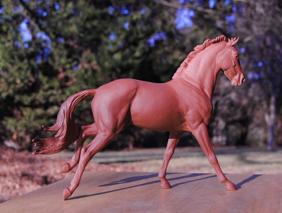 New Copperfox Irish Sports Horse Mould sculpted by Morgen Kilbourn