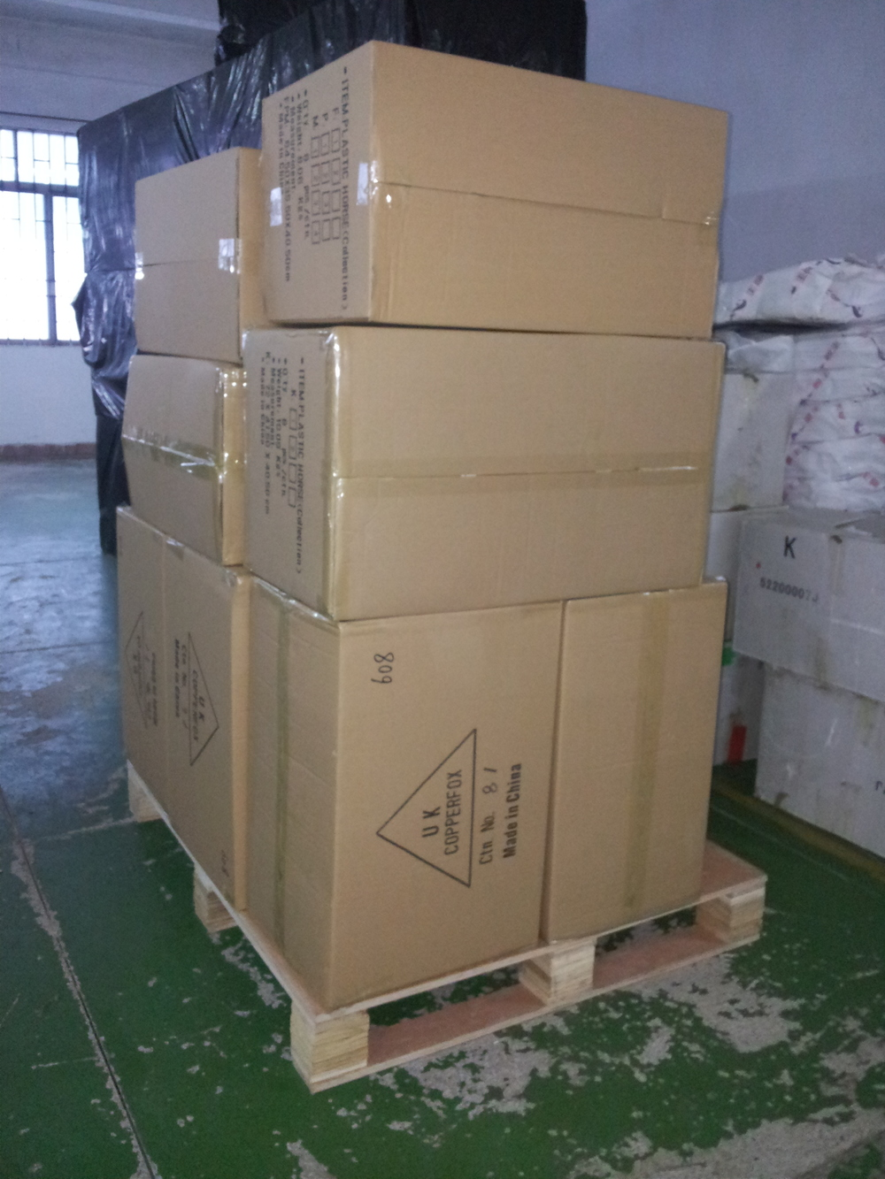our shipment leaving the factory