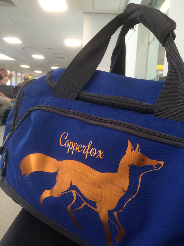 A Copperfox Trip needs a Copperfox Bag