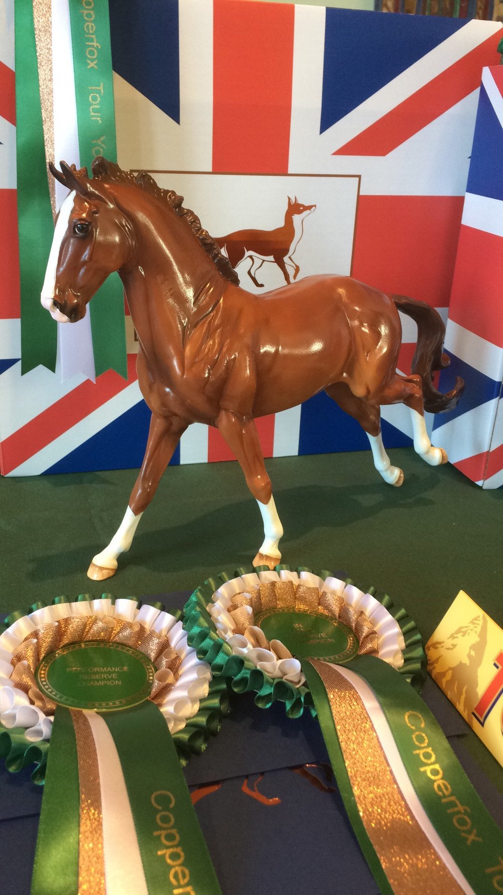 Glossy Copperfox Finnigan (Run of 16 pieces)