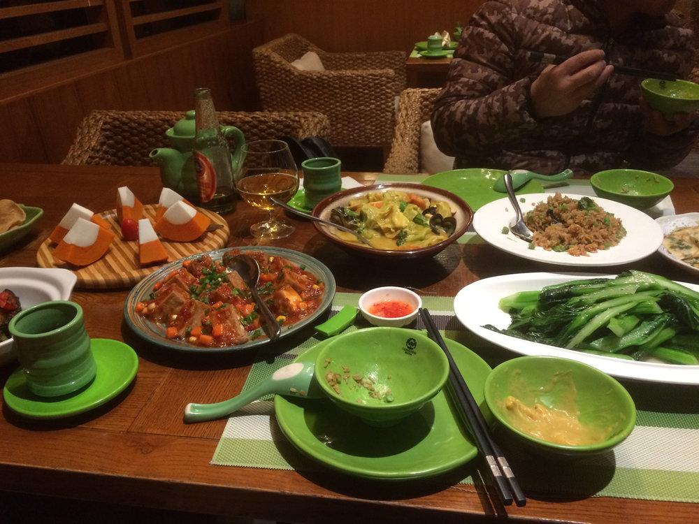 Thai themed Meal