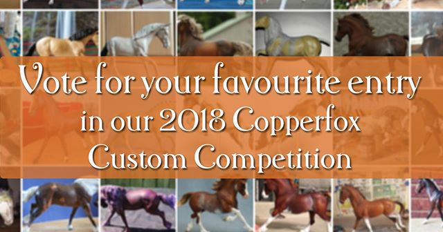 "Judging for our 2018 Copperfox Custom Competition is underway! It's now time to vote for your favourite custom in the competition to decide the winner of the ""Fan Favourite"" category. Cast your vote here: https://poll.fbapp.io/copperfox-2018-custom-competition"