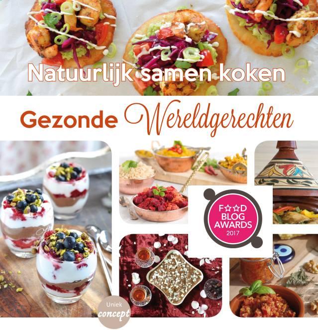 Kookboek Gezonde Wereldgerechten genomineerd voor de foodblogawards 2017!