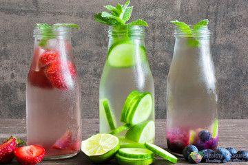 Water drinken maar dan met smaak.Heerlijk bij dorst in de zomer! - De ultieme dorstlesser!
