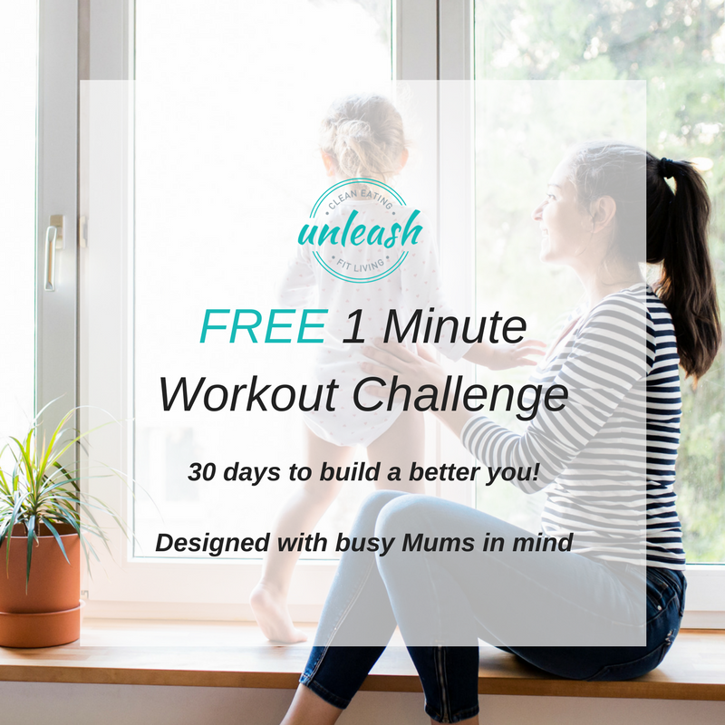Free 1 Minute Workout Challenge Designed For Busy Mums
