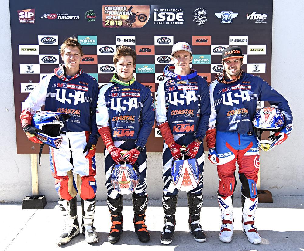 Team Usa - FIM ISDE 2016 Navarra 005.jpg