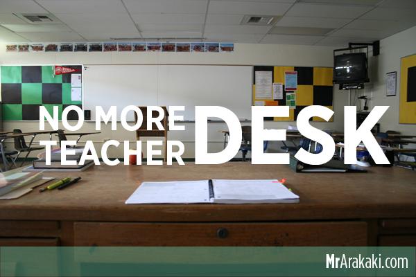 Elementary Classrooms Without Desks ~ No more teacher desk — i teach kids