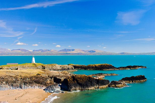 The breathtaking Llanddwyn Island. Go on, take the plunge! (Photo from Wales Online)