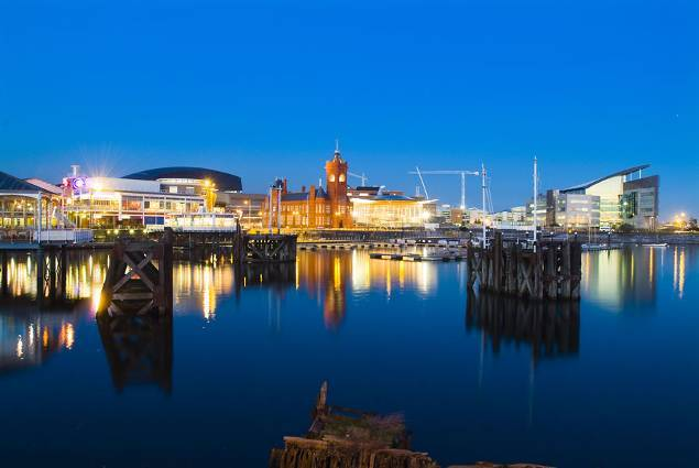 Cardiff Bay - a sight for sore eyes