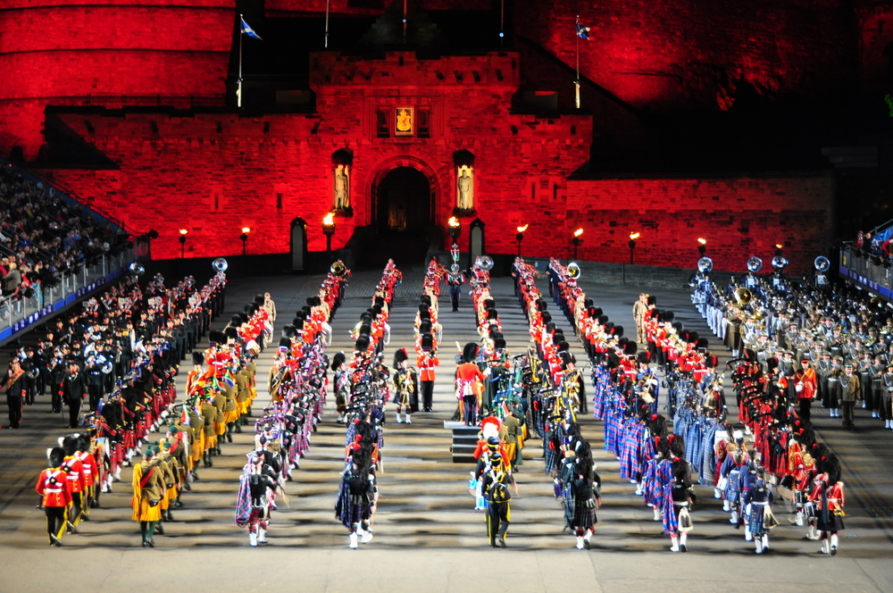 The Edinburgh Military Tattoo 2010 (photo from commons.wikimedia.org)