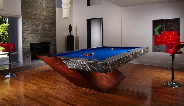 Photo Credit: Mitchell custom pool tables