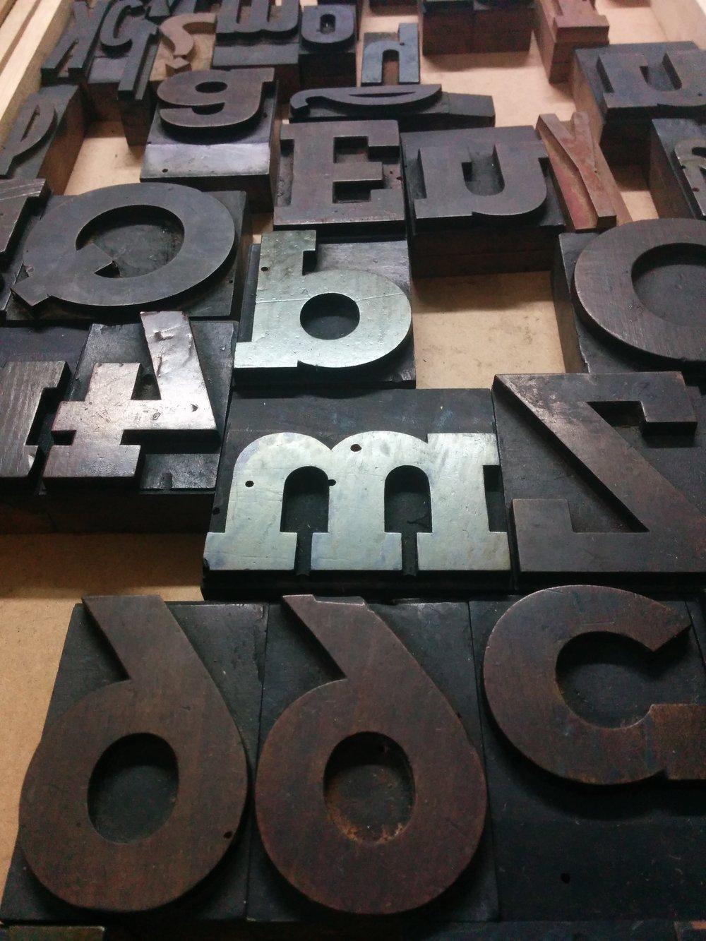 Slab Wood Font · Restored