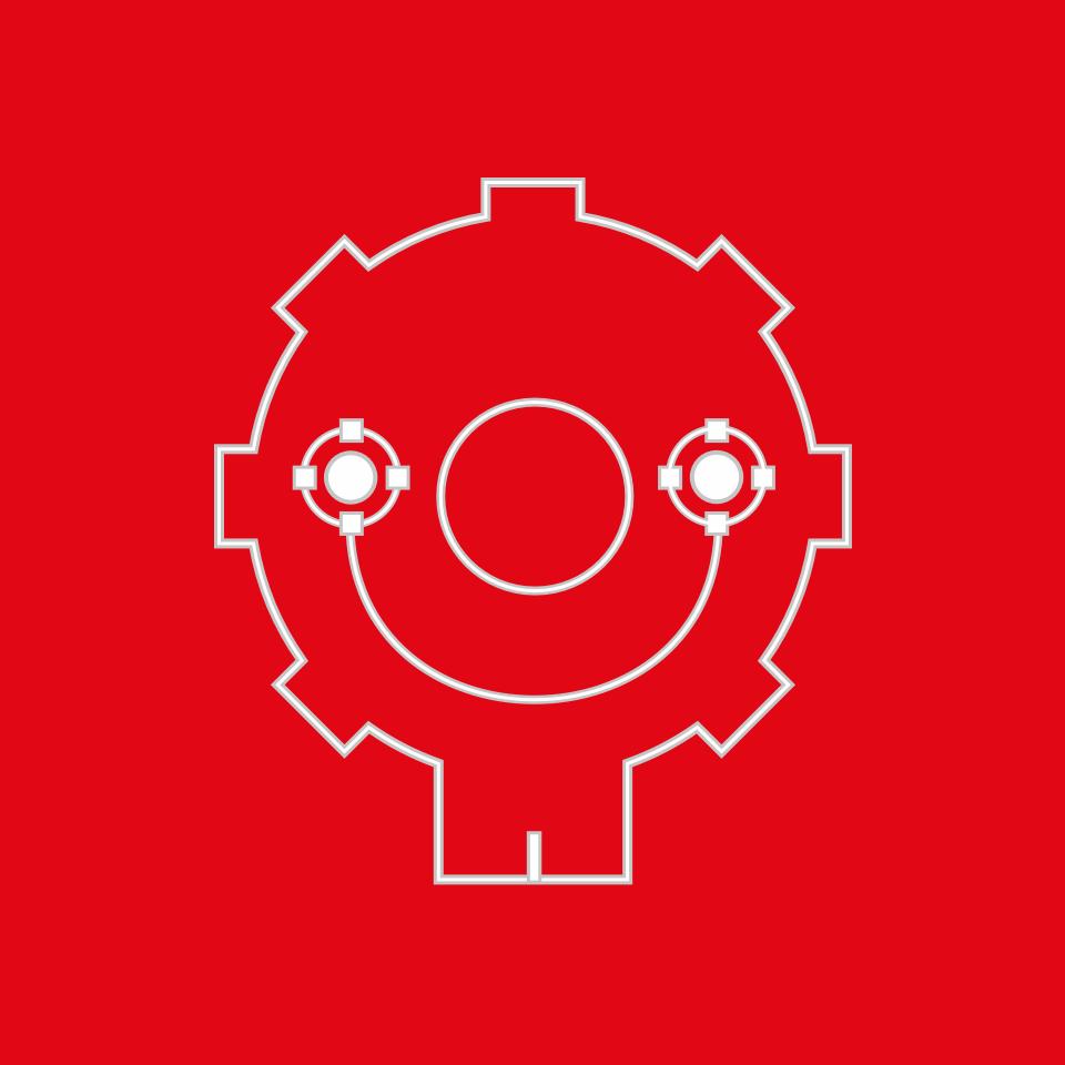 Symbol Variant · Red Background