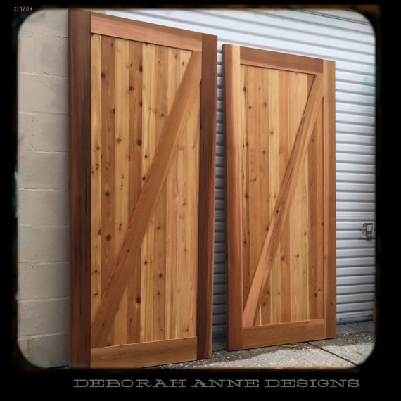 Exceptionnel Z Brace Barn Door