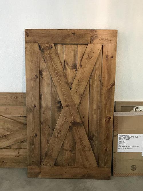 Custom Full X Barn Door Shutters Deborah Anne Designs