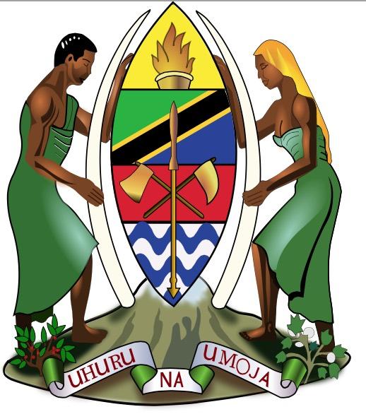 Symbolträchtig: Tansanias Wappen | © by FishX