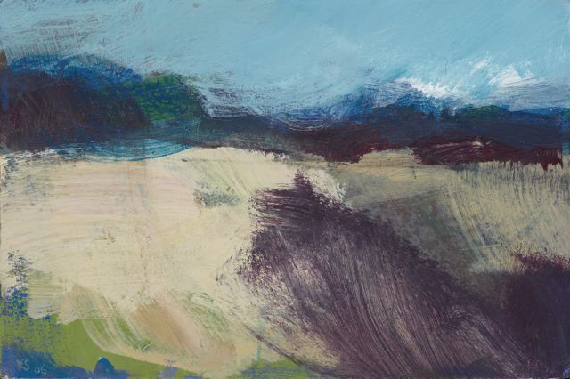 1Kitty Stirling|The Field II 2006|acrylic on board|26 x 38cm.jpg