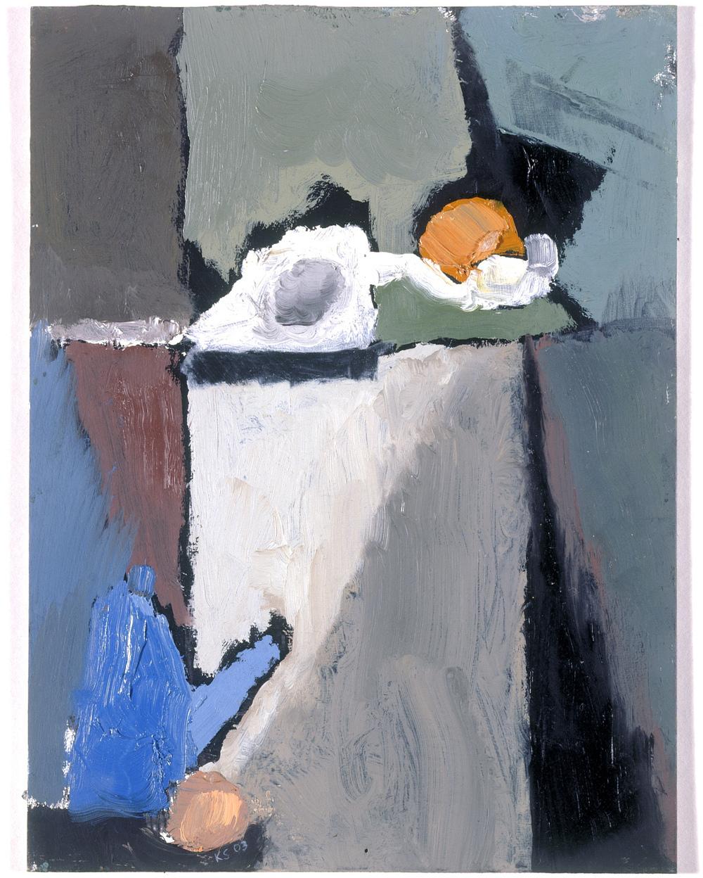 Kitty Stirling|Still Life on Black I, 2003| Oil on board| 25 x 19 cms.jpg