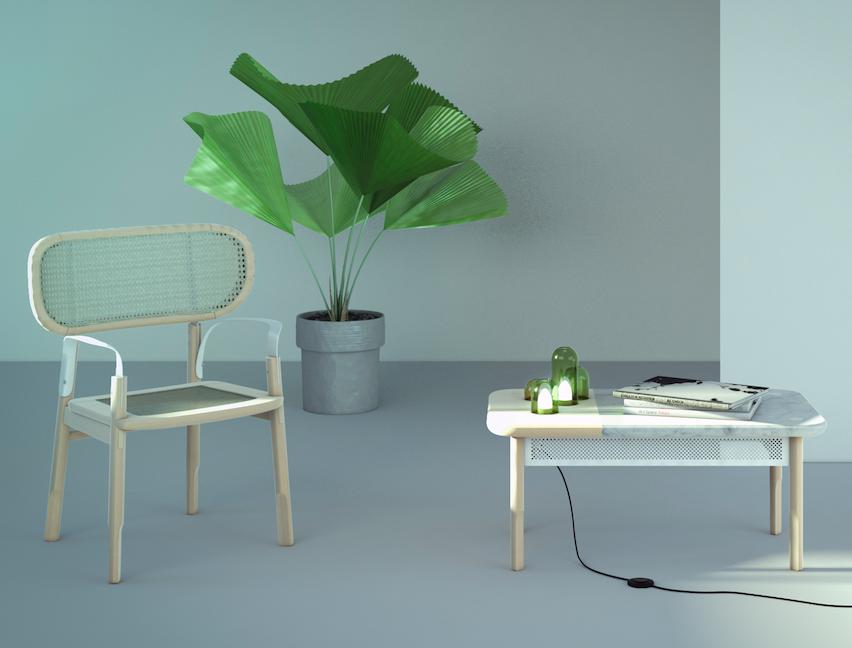 Designer:  Adrian García Alvarez   Project:  Franca  &  Mogote