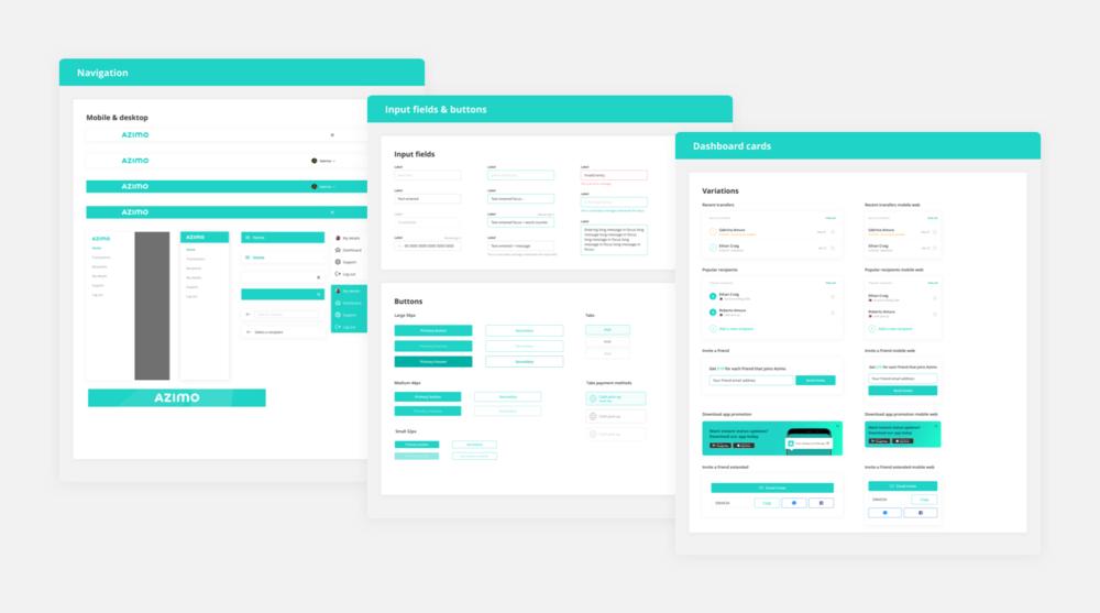 UI Kit components #2 - Domingo Widen