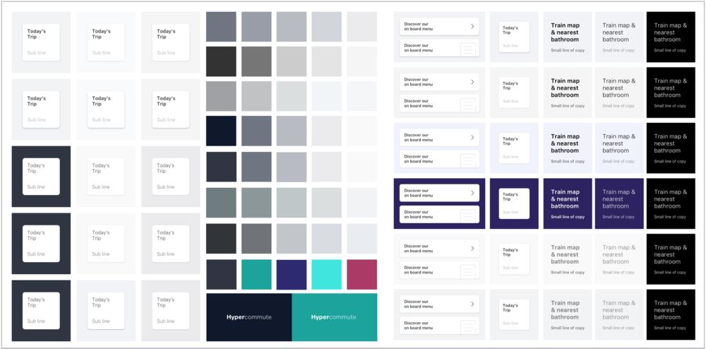 Typography & colour exploration - Domingo Widen