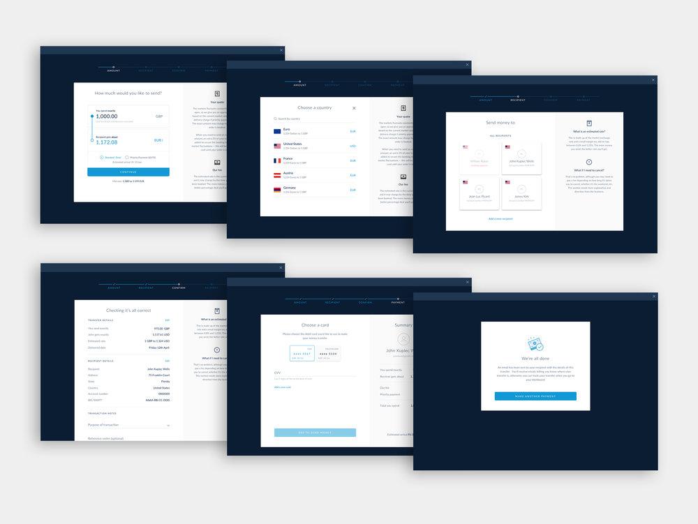 Sending flow desktop - Domingo Widen