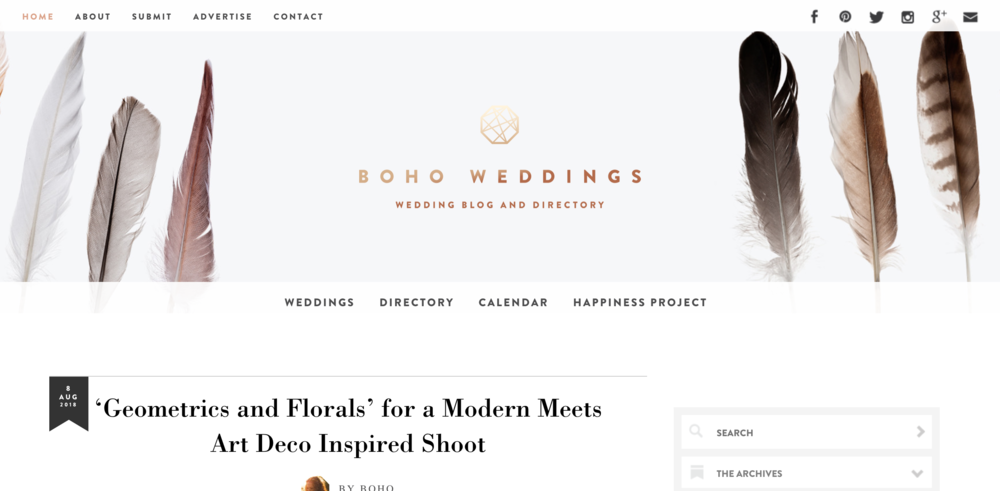 Boho Weddings For the Boho