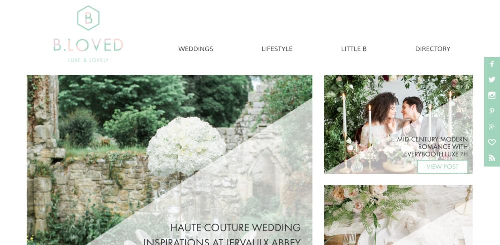 BLOVED Blog I Luxury Wedding Blog