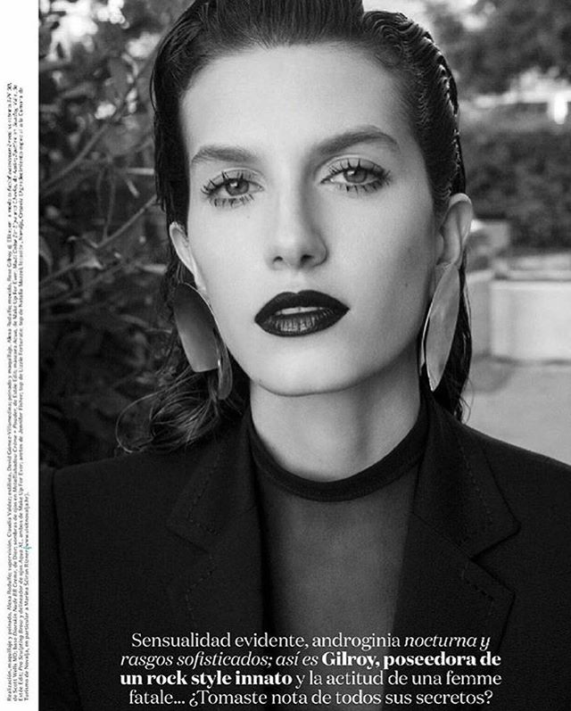 !Tayeh earrings in @VogueMexico¡ photo @jakovbaricic styling @hellomrdavid