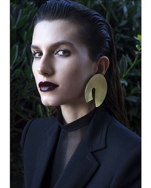 More of Rose Gilroy in Tayeh earrings for @VogueMexico photo @jakovbaricic style @hellomrdavid
